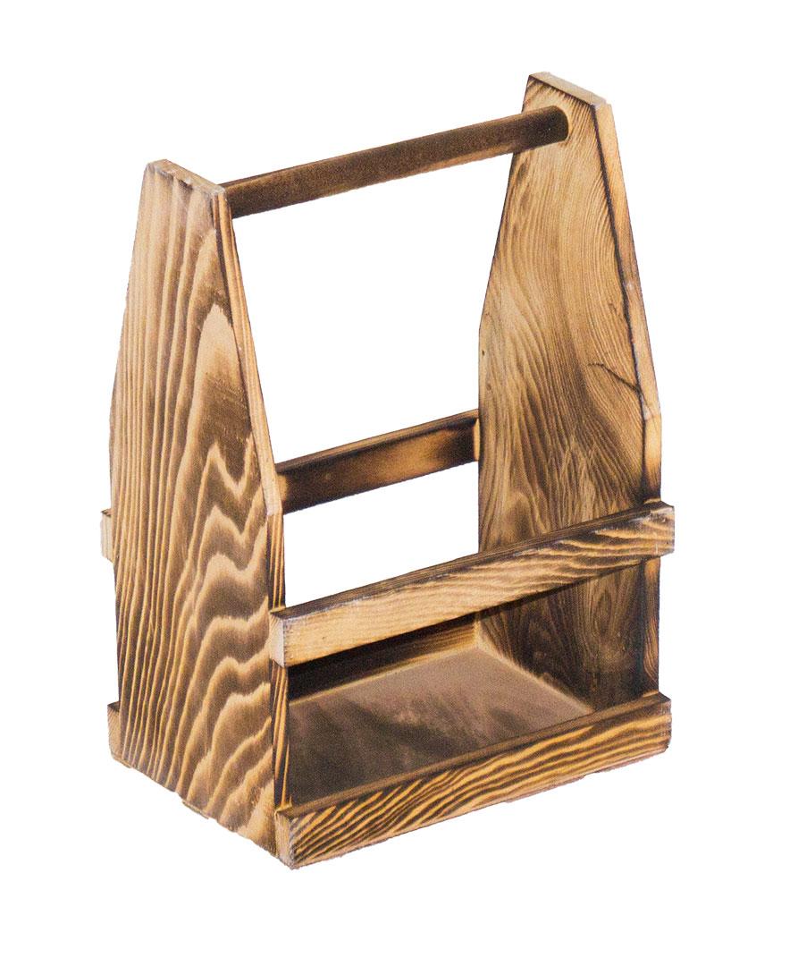 geflammte kisten geflammter flaschentr ger 24x14 5x34 5cm. Black Bedroom Furniture Sets. Home Design Ideas