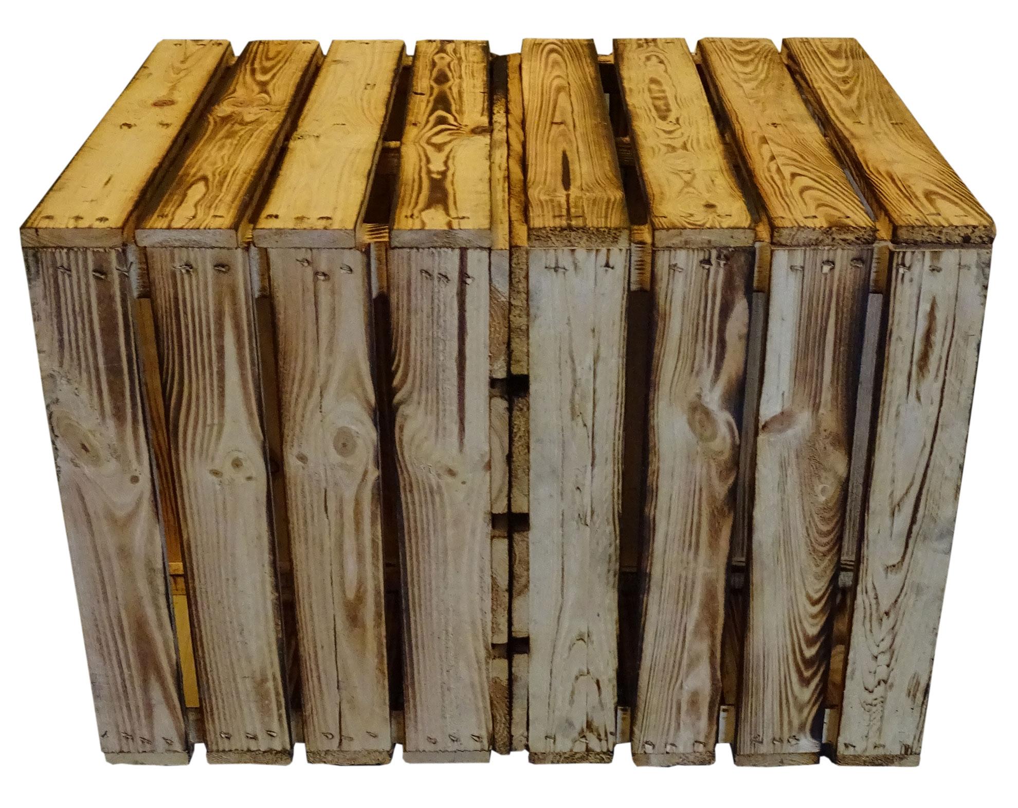 Beistelltisch Holz Auf Rollen ~ Möbel  Truhen  Beistelltisch geflammt auf Rollen