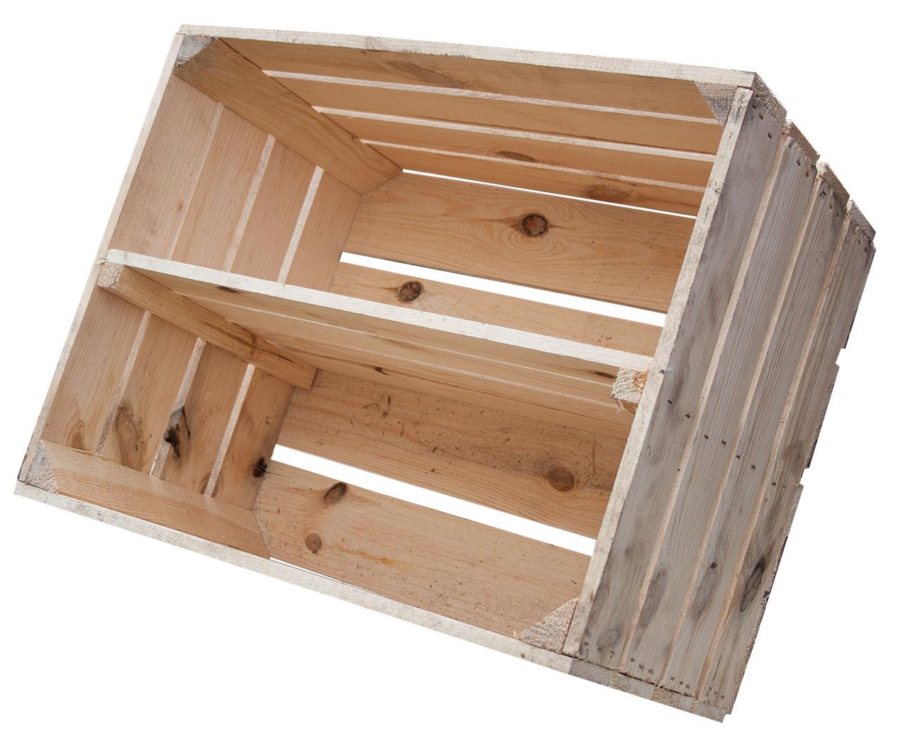 obstkisten regalkiste l ngsboden natur 50x40x30cm. Black Bedroom Furniture Sets. Home Design Ideas
