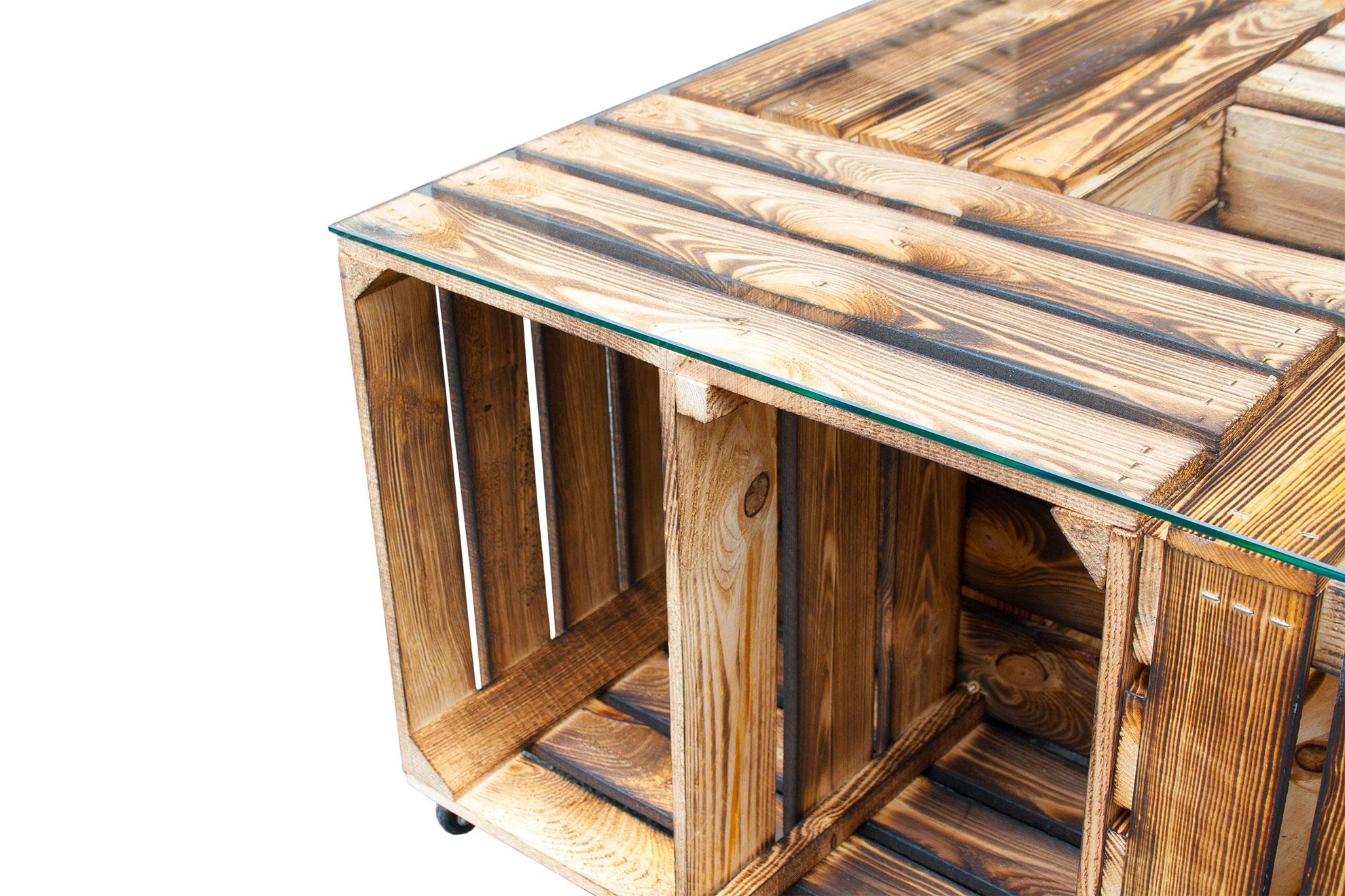 tisch aus obstkisten 1000 ideas about weinkisten tisch on pinterest wundersch ner couchtisch. Black Bedroom Furniture Sets. Home Design Ideas