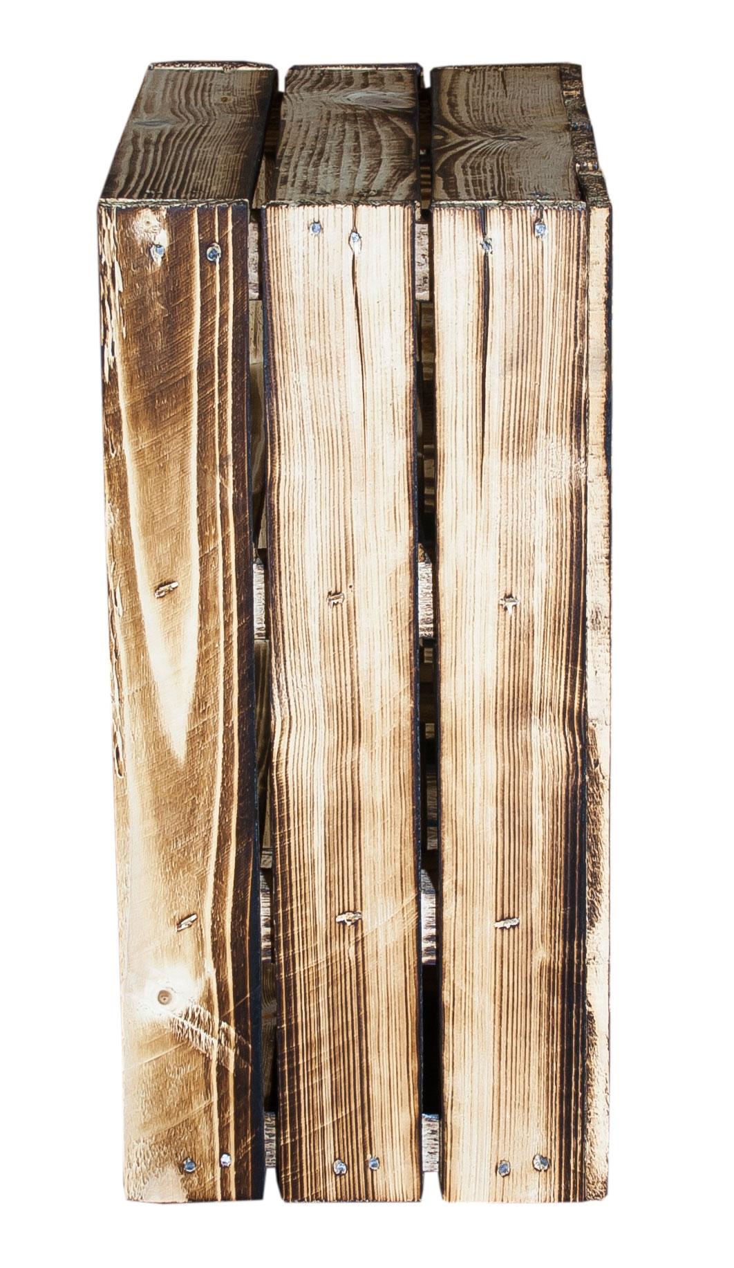 n tzliches geflammtes gew rzregal mit 2 b den 50x40 5x24cm. Black Bedroom Furniture Sets. Home Design Ideas