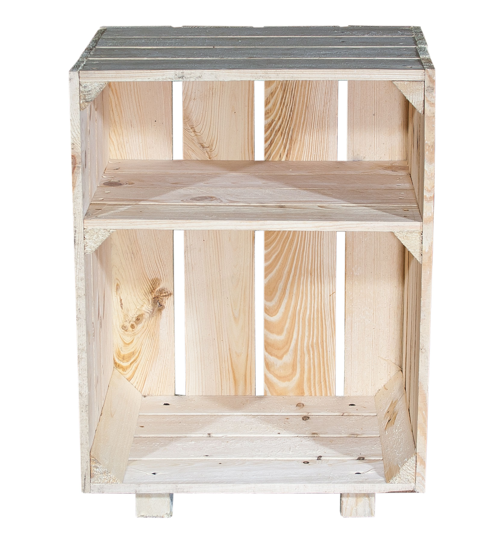 m bel nachttisch mit boden natur 30 5x40x54cm. Black Bedroom Furniture Sets. Home Design Ideas