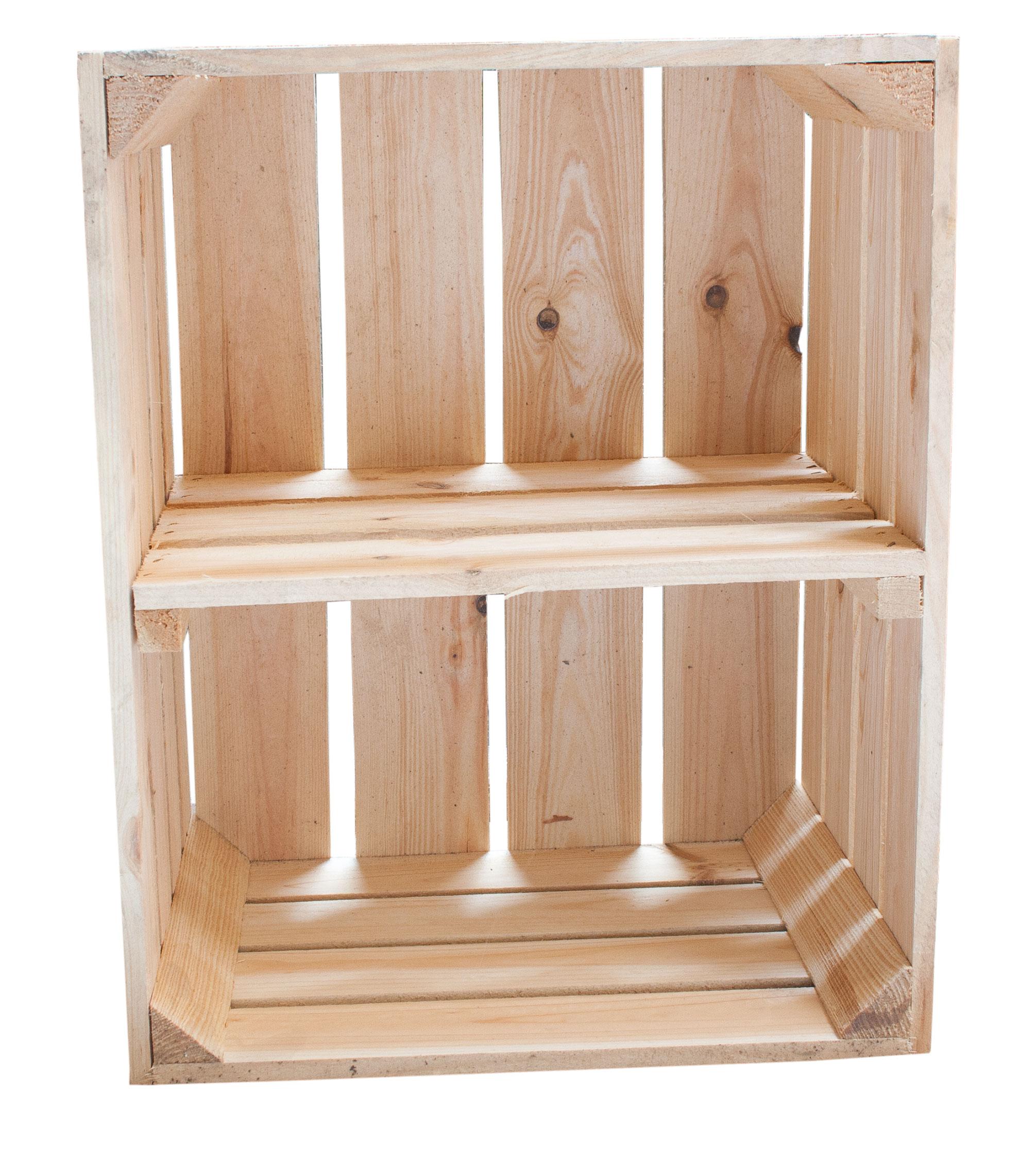 sale 6er set helle kiste f r schuh oder b cherregal kurzes mittelbrett 50x40x30cm. Black Bedroom Furniture Sets. Home Design Ideas