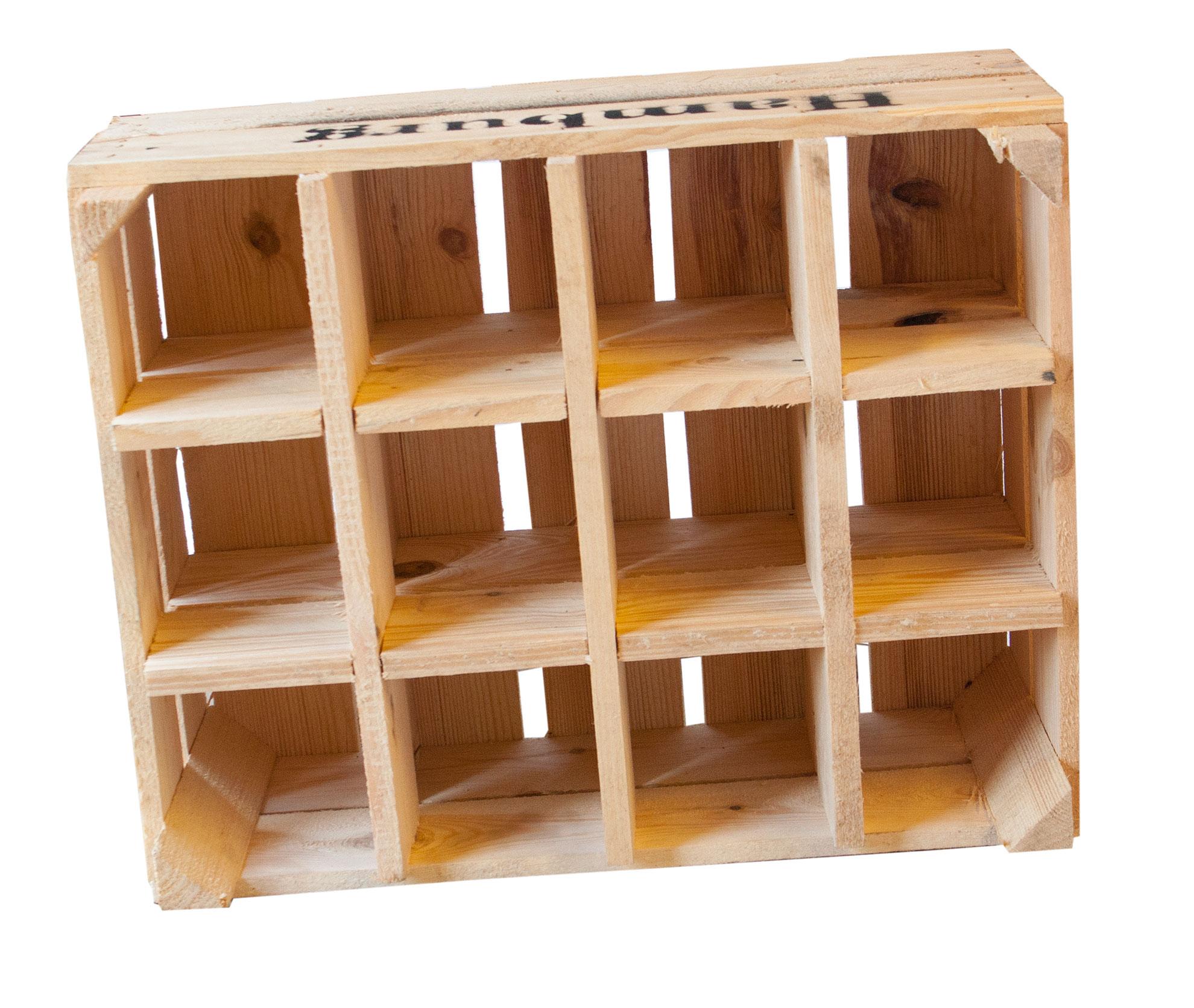 neue kisten flaschenkasten hamburg natur 50x40x23cm. Black Bedroom Furniture Sets. Home Design Ideas