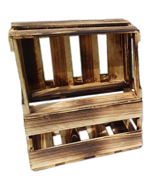 Weinkisten Shop wine boxes flamed wine box 46x30 5x24cm