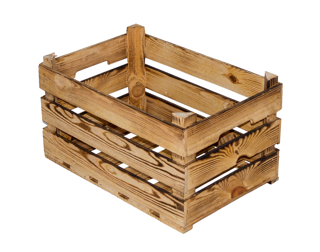 Weinkisten Shop flamed crates flamed box 25kg version 59x39x35cm