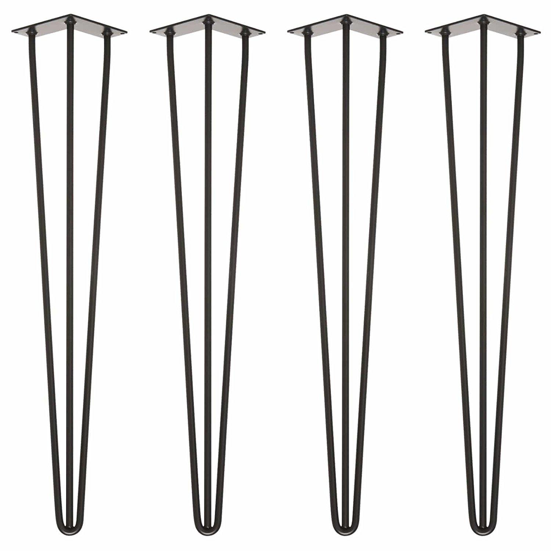 accessoires hairpin legs tischbeine 3 stangen 70cm. Black Bedroom Furniture Sets. Home Design Ideas