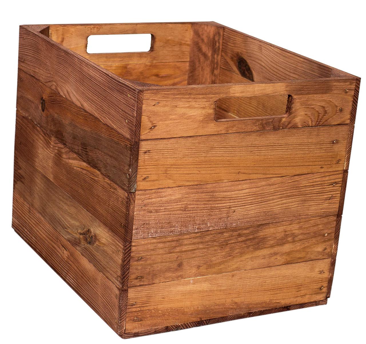 Lackiertes Holz Holzkiste Used Fur Kallax Regale 33x37 5x32 5cm