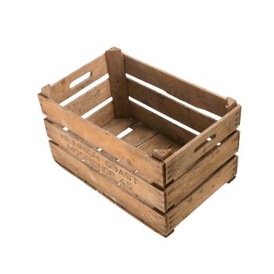 Holzkisten neuenfelder format mit kurzen stabilen for Wohnzimmertisch weinkiste