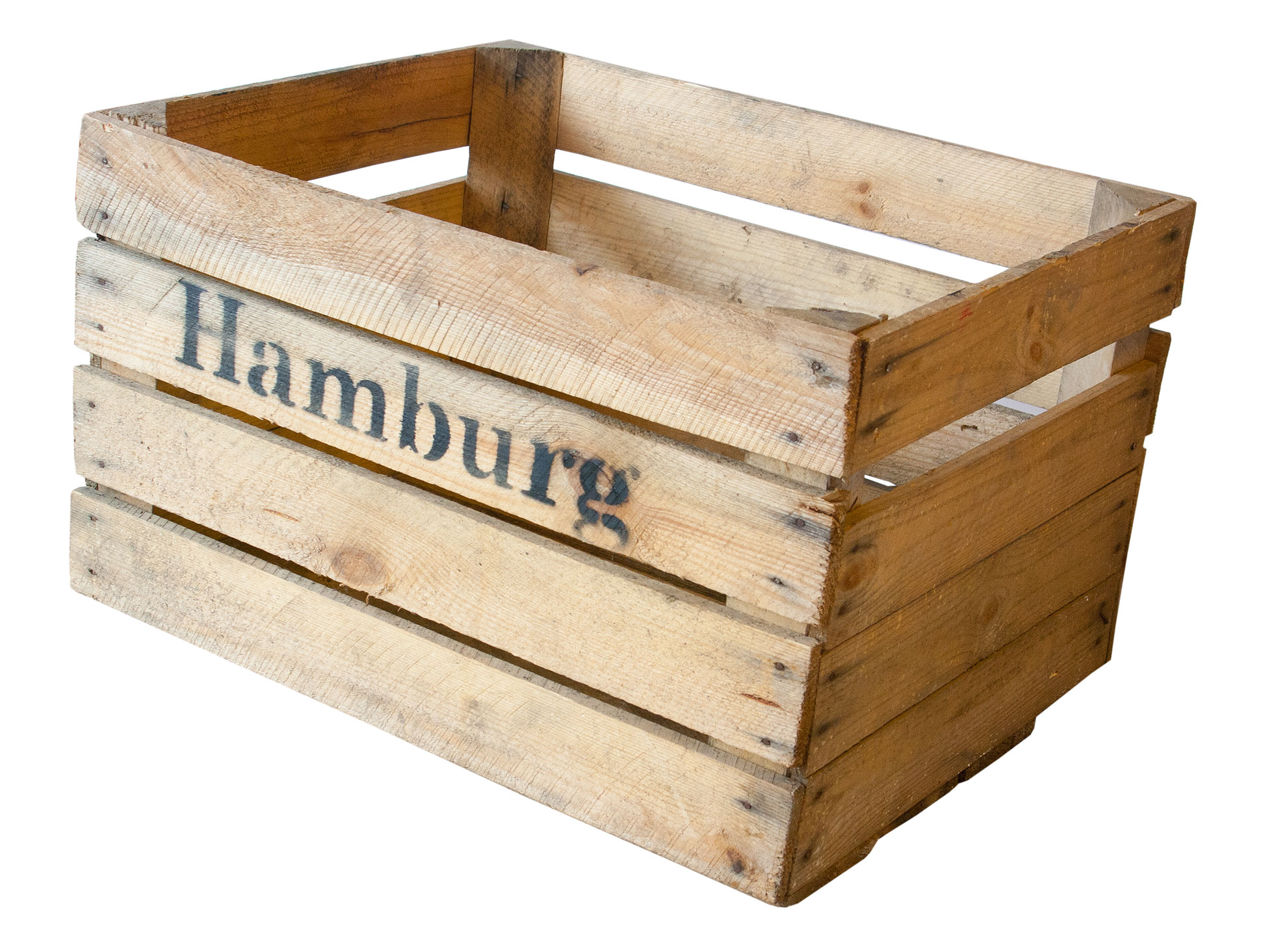 Weinkisten Shop fruit boxes apple box hamburg nature 50x40x30cm