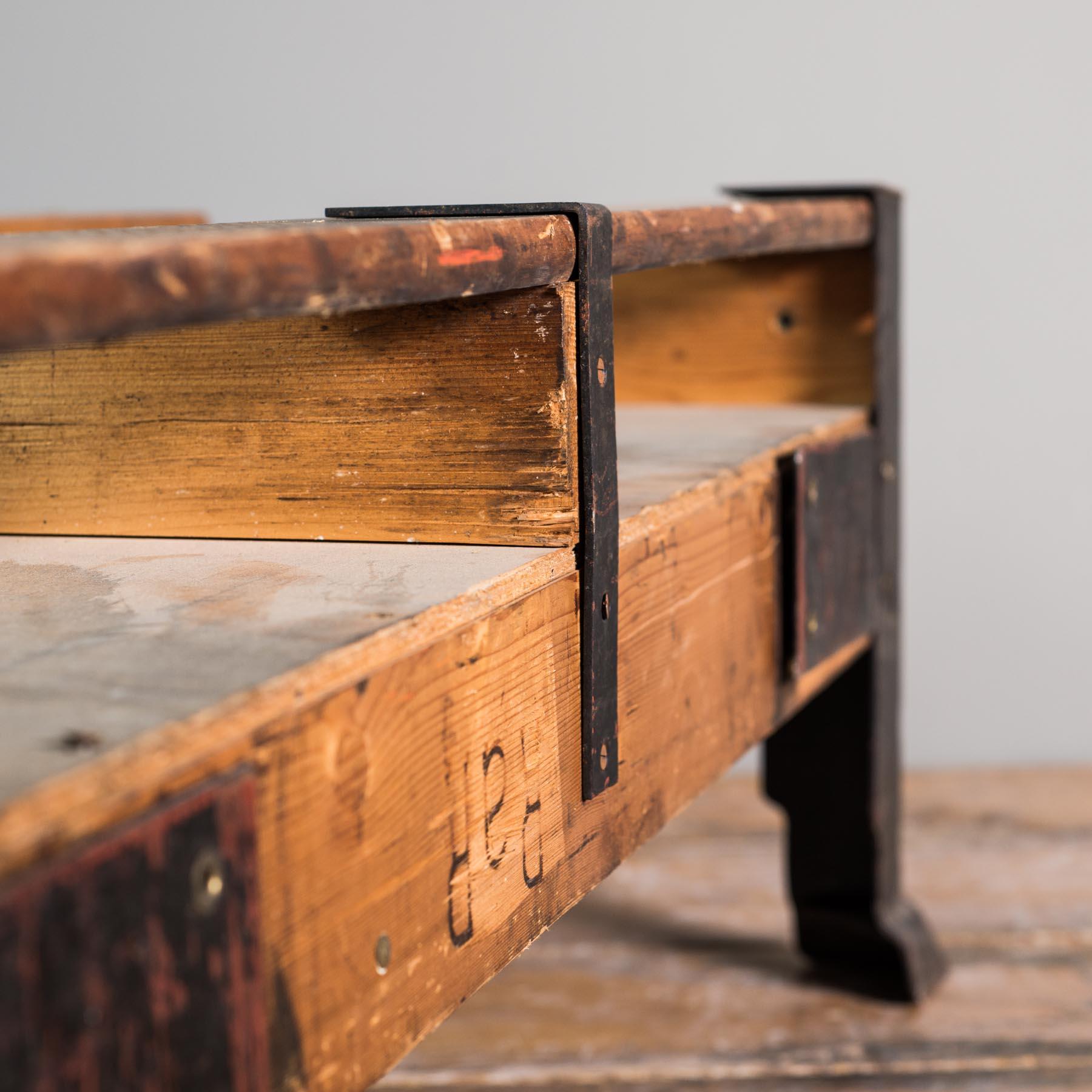 couchtische schreibtische vintage industrietisch inkl glasplatte 106x85x40cm. Black Bedroom Furniture Sets. Home Design Ideas