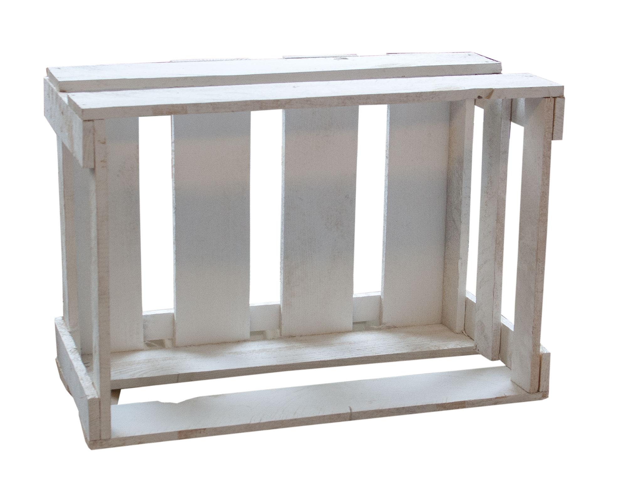 weinkisten wei e weinkiste hamburg 46x30 5x24cm. Black Bedroom Furniture Sets. Home Design Ideas